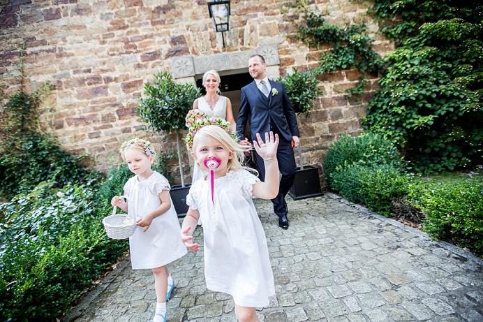 Hochzeitsfotos im schloss
