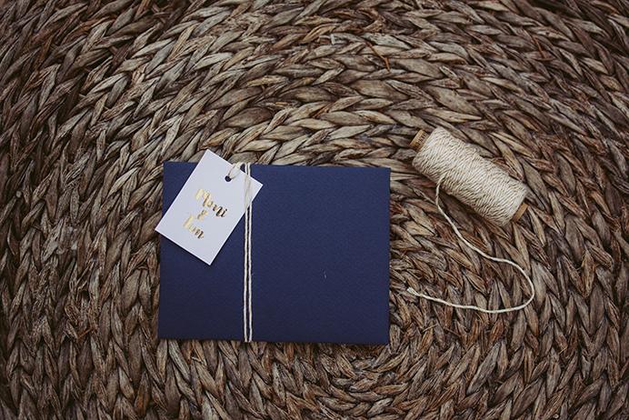 DIY Papeterie mit Goldfolie: Geschenkanhänger