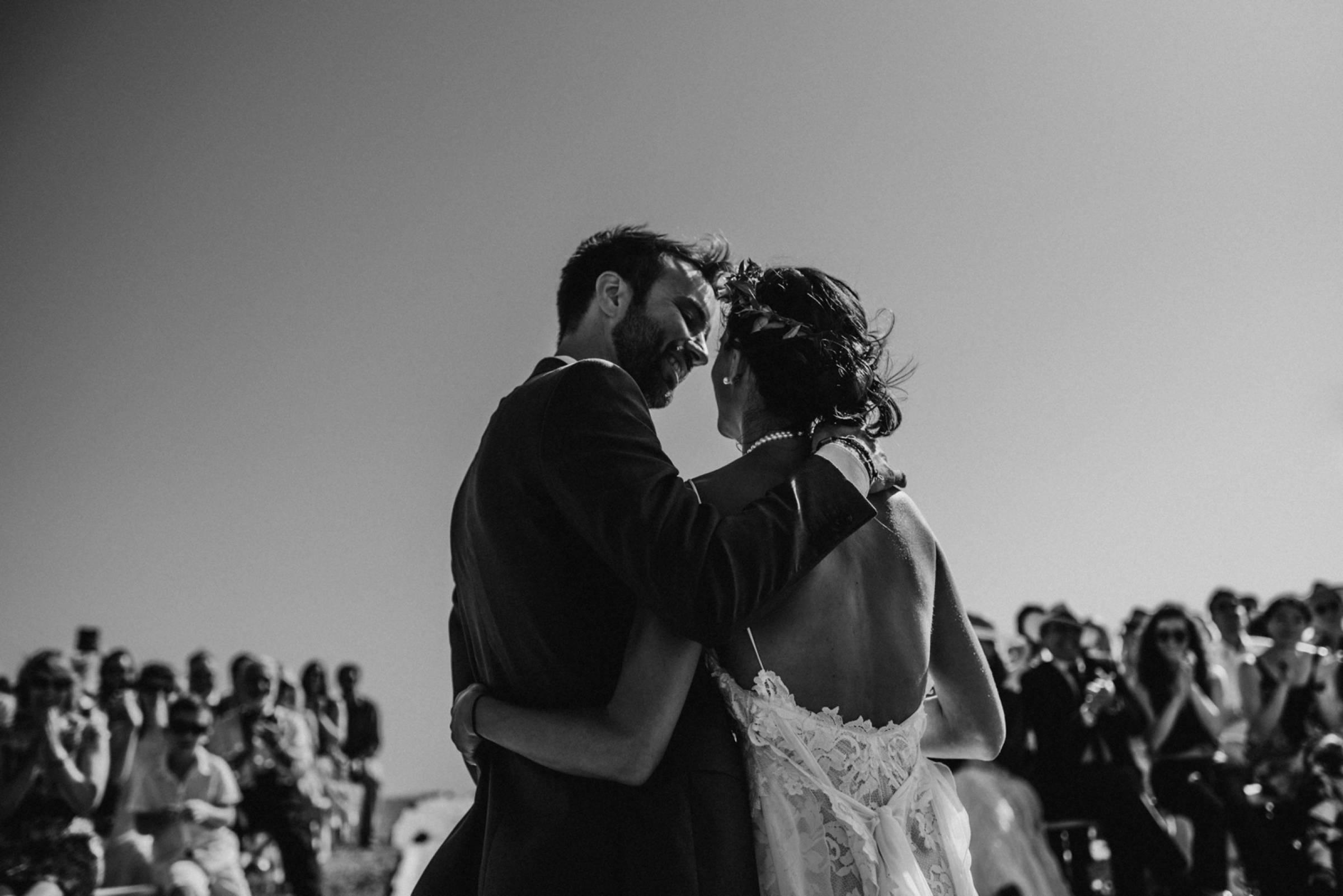 Heiraten unter freiem Himmel in Frankreich