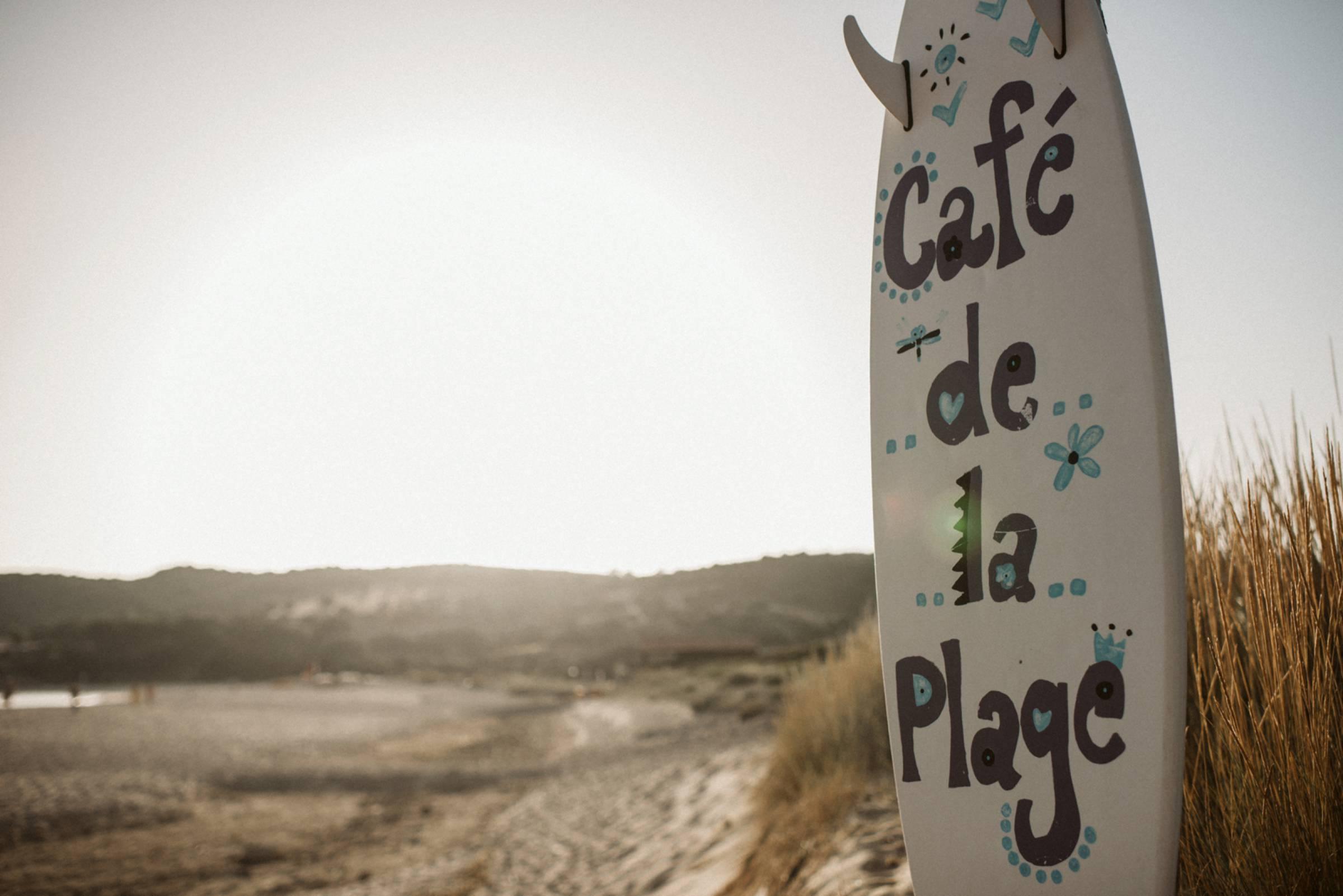 Café de la Plage auf Korsika