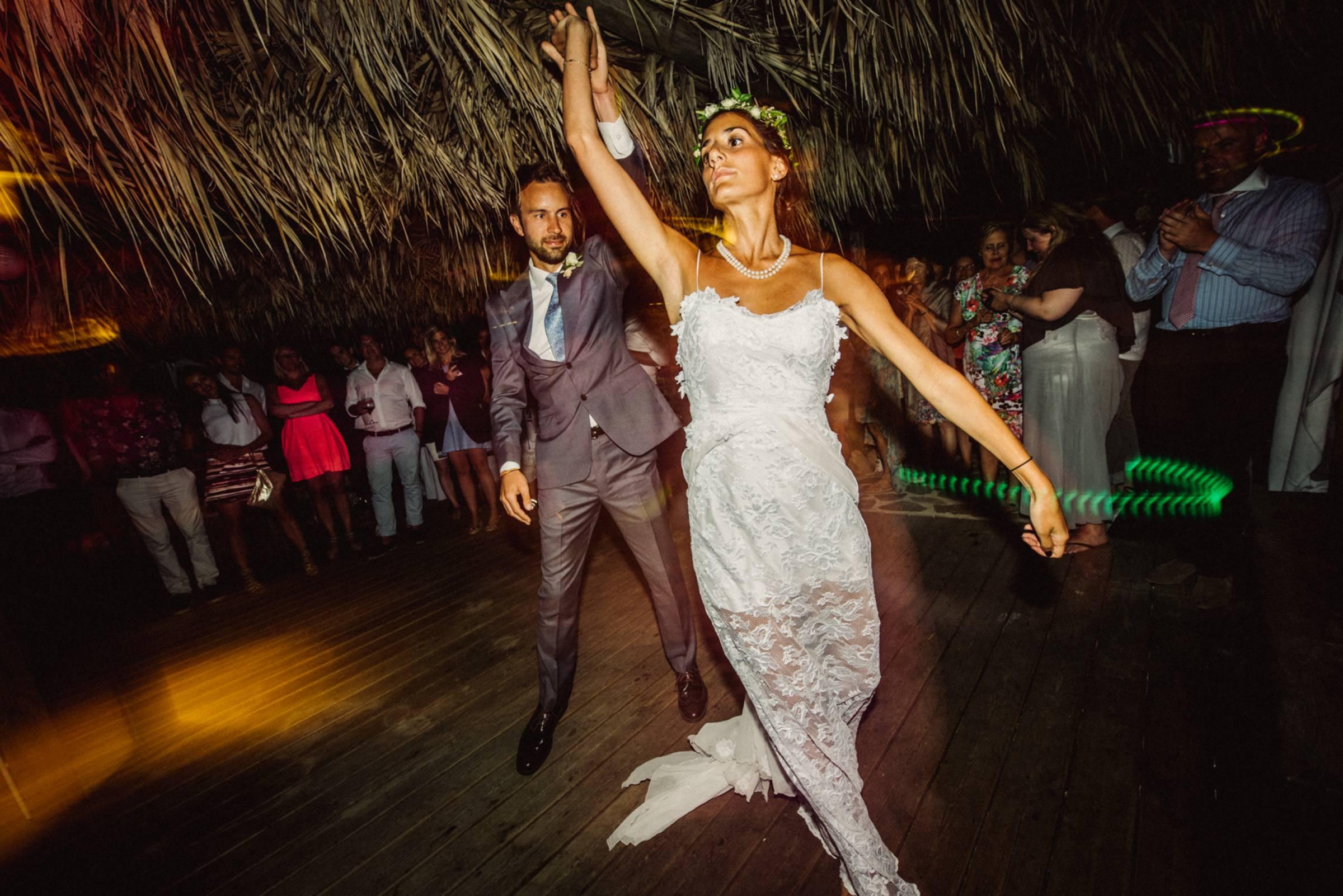 Hochzeitstanz auf Korsika in Frankreich