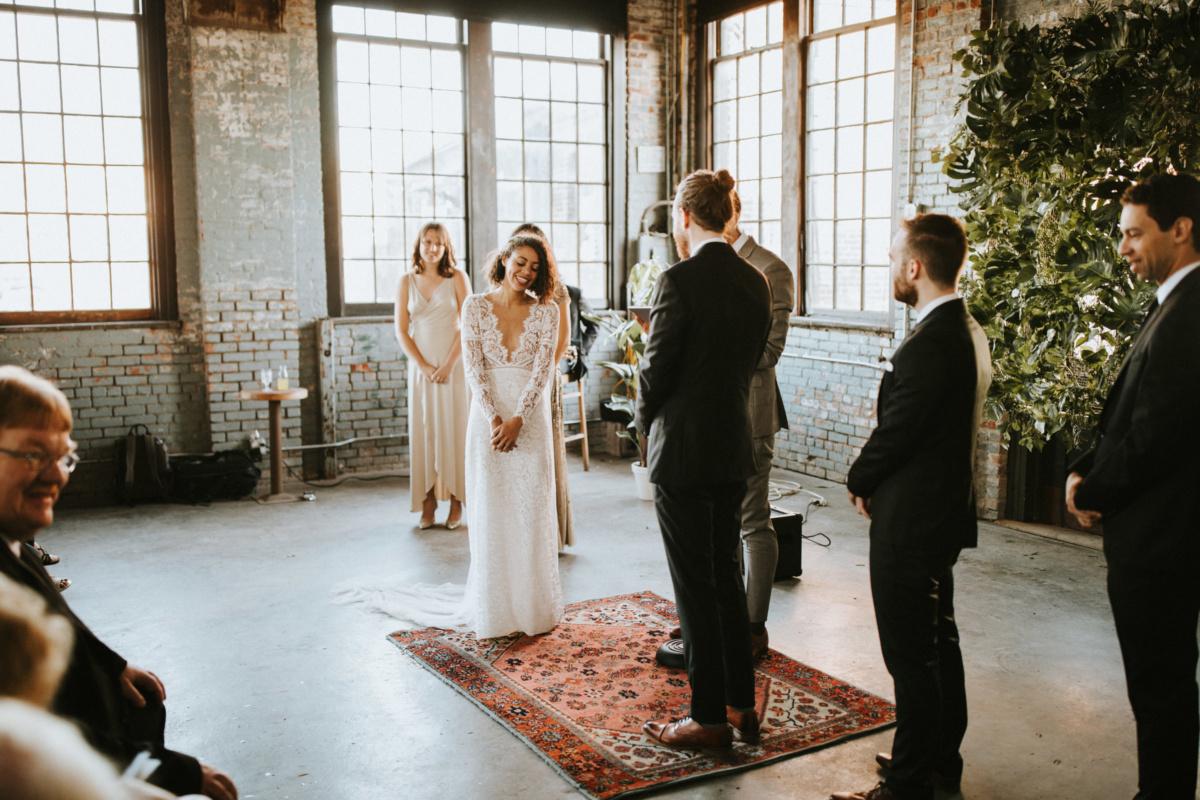 Hochzeit in New York - Dana & Martin in der Hudson Basilica