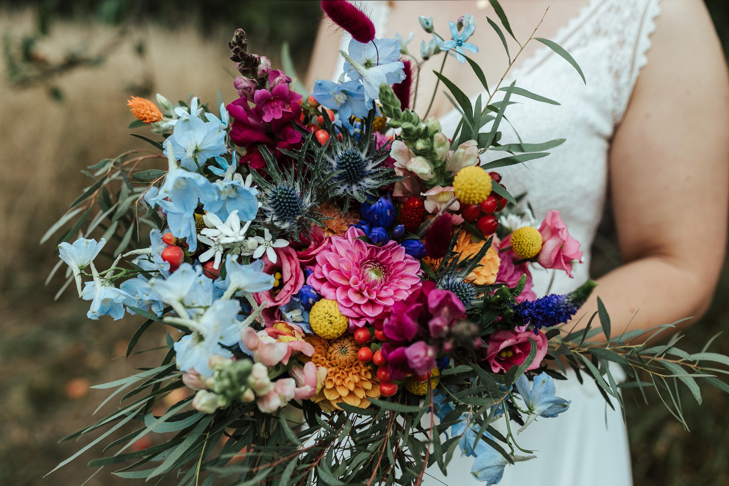 Brautstrauß von Kopflegenden