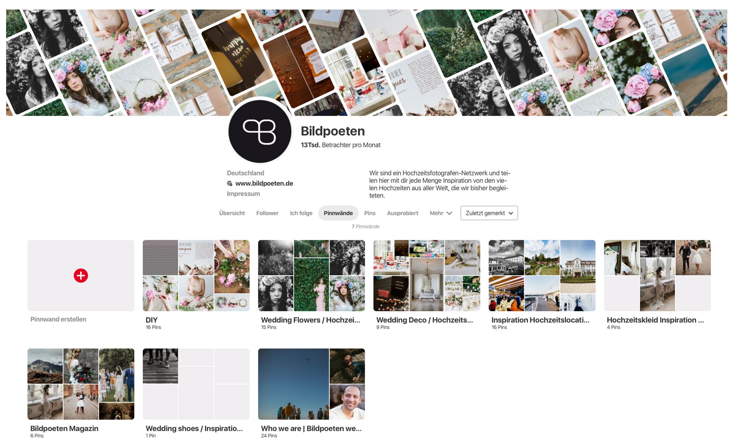 Hochzeitsinspiration Die Bildpoeten sind jetzt bei Pinterest ...