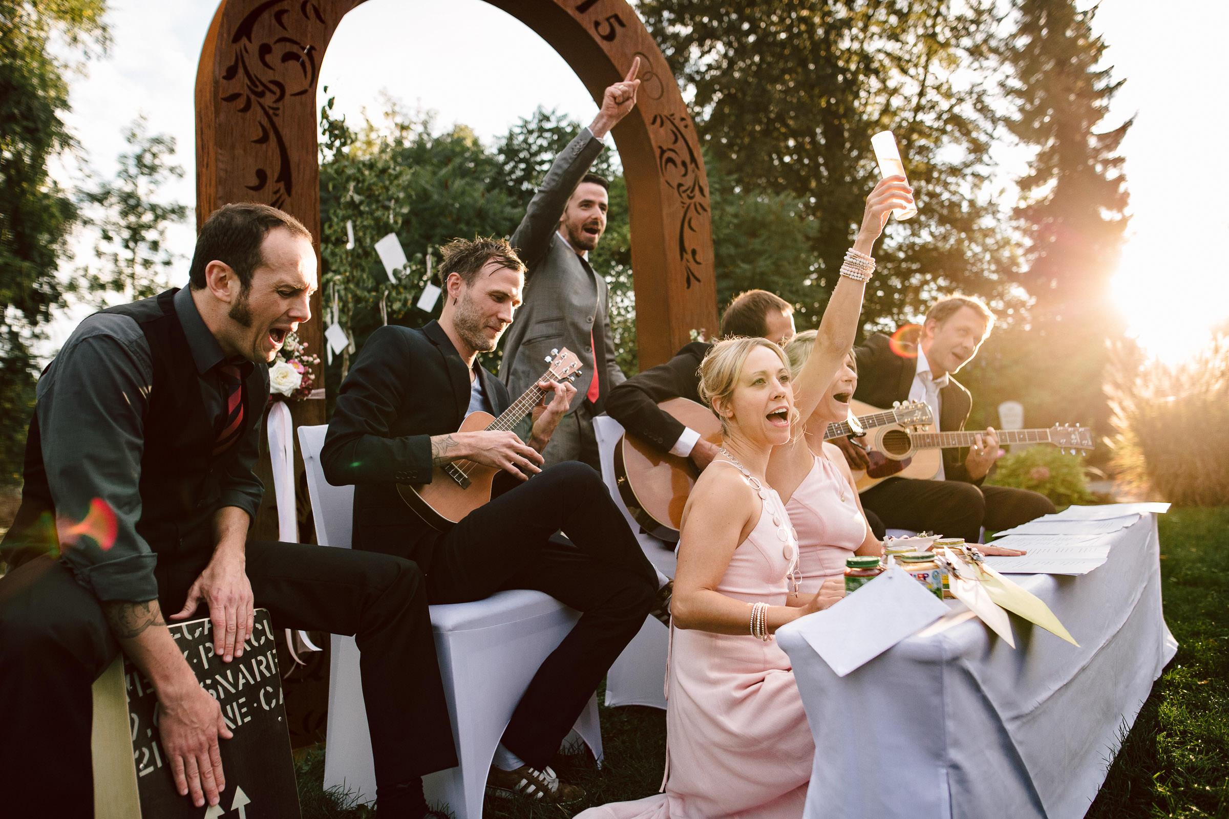 Hochzeitsfoto-party