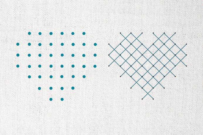 Berühmt DIY-Papeterie mit Nadel und Faden (inkl. Freebies) - Bildpoeten JS77